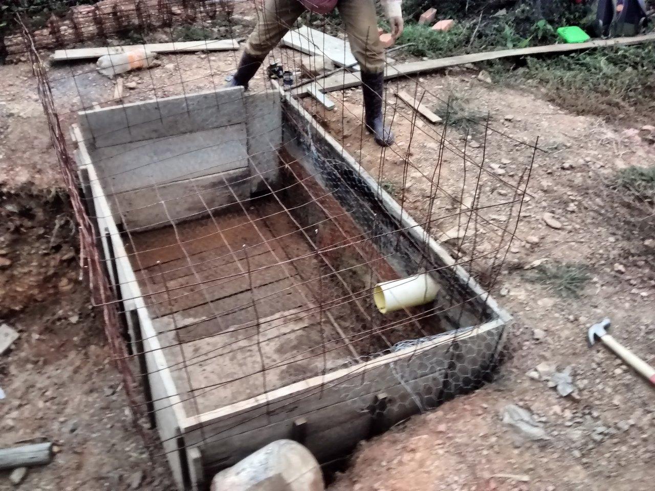 Malla electrosoldada para ferrocemento