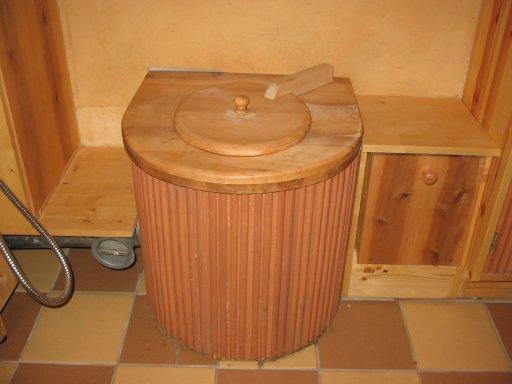 Baño seco madera